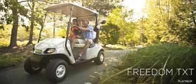 2017 E-Z-Go Golf Freedom TXT Gas Golf Golf Carts Campbellsville, KY