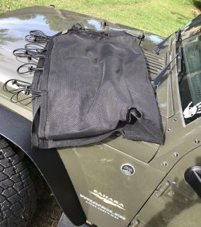 Eclipse Sunshade for Jeep