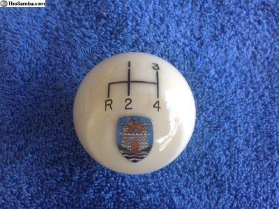 Crystal ball Wolfsburg shifter knob