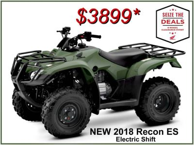 2018 Honda FourTrax Recon ES Utility ATVs Erie, PA