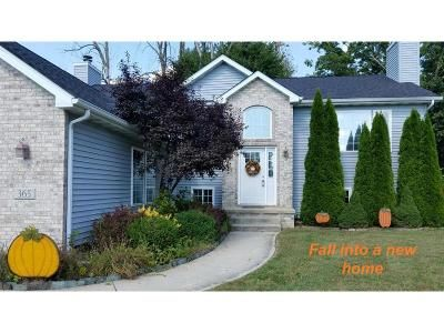 4 Bed 3 Bath Foreclosure Property in Valparaiso, IN 46385 - Shrine Ct