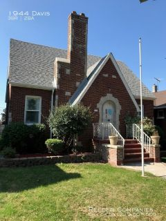 Rare find for Whiting- Updated all brick 2 story home near Wolf Lake and walking distance to downtown Whiting!