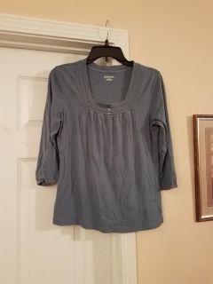 LARGE, ST.JOHNS BAY, GREY/BLUE TOP, EXCELLENT CONDITION, SMOKE FREE HOUSE