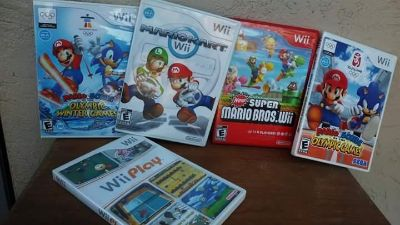 Wii games all in perfect condition