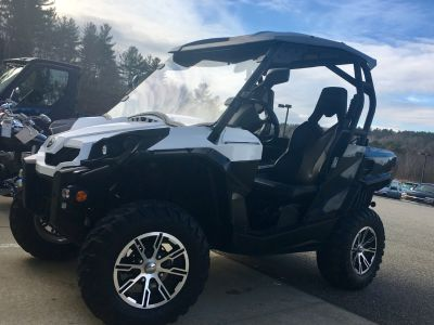 2013 Can-Am Commander E LSV Utility SxS Utility Vehicles Barre, MA