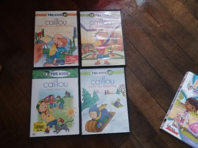 Caillou movies
