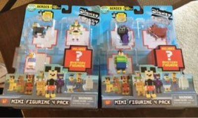 Disney MiniFigure 4 Packs