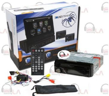 """Purchase VIR-7830B SOUNDSTREAM 7"""" TV CD DVD MP3 MP4 SD USB AUX BLUTOOTH CAR STEREO RADIO motorcycle in Perris, California, United States, for US $169.99"""