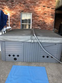 Hot tub needs new motherboard. Everything else works. Cover was $300 asking $150 for all. If interested, please message or call 573-619-86