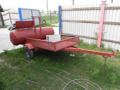 asador doble con remolque // BBQ Double trailer