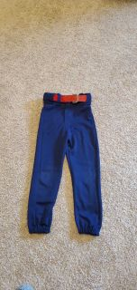Youth Baseball Pants, Size S