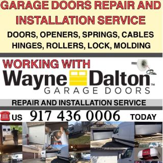 REPAIR AND INSTALL GARAGE DOORS ALL OVER QUEENS AND LONG ISLAND NY 917 436 0006