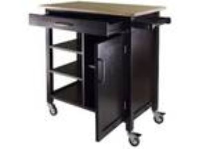 Kitchen Island Cart Microwave Table 3 Shelf Utility Station