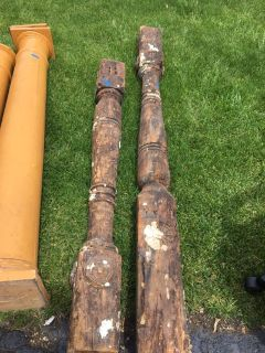 Antique Porch Posts