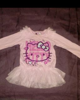 Hello Kitty brand long sleeve size 12 months glittery good conditions shirt MY PROFILE MY MEETING INFORMATION