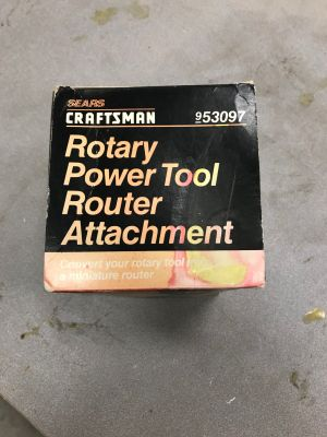 Craftsman Rotary Power Tool Router Attachment