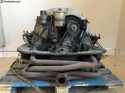 1955 Porsche P3440X Complete 1500 Engine