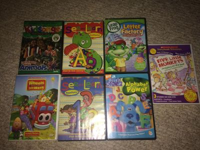 Educational DVDs $5 for all