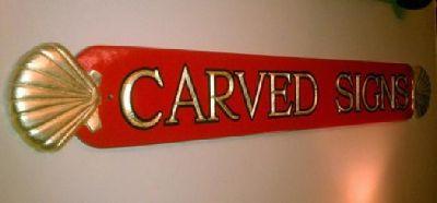 $100 Custom carved Quarterboard (name boards)