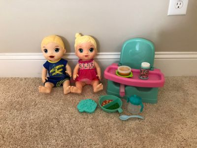 Baby alive dolls and accessories