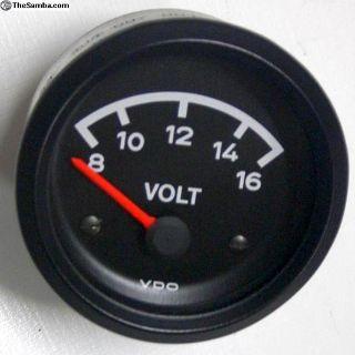 Porsche 914 Restored VDO Volt Gauge