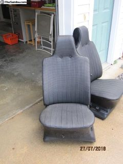 Type 3 front seats
