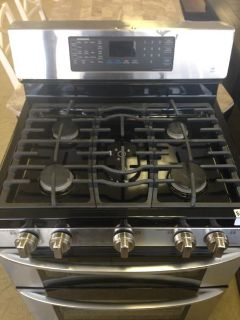 $599.99, Stainless Steel LG Gas Stove-i208