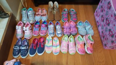 toddler clothes and shoes selling all together