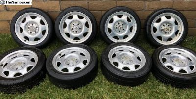 2 Sets MB CLK Lightweight Wheels Syncro Westfalia