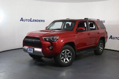 2018 Toyota 4Runner SR5 (red)