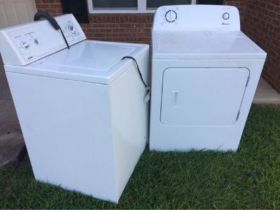 Free Washer and Dryer....Have to pick up