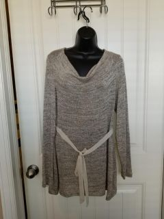 Oh Baby by Motherhood Gold Sweater - Size L