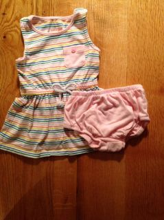 Cat & Jack rainbow dress with bloomers