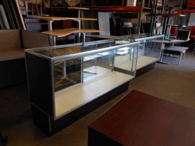 Glass Display Cases - Commercial Grade