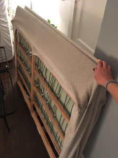 Queen Boxspring (foldable!)