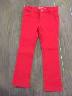 Red jeans size 4