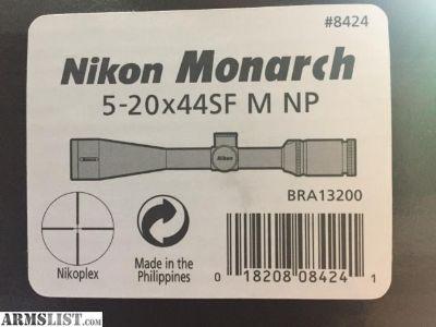 For Sale: Nikon Monarch