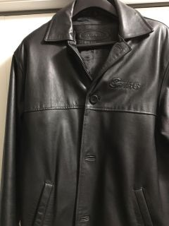 Sarnia Sting Players 3/4 Length Leather Coat