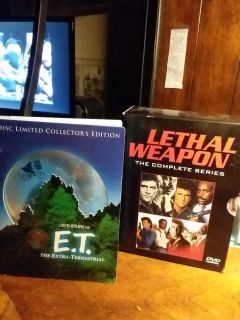 ET and Lethal Weapon DVD