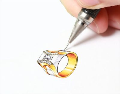 Hire CAD Printing and Design Service for Your Jewelry