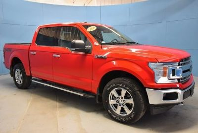 2018 Ford F-150 XLT (Race Red)