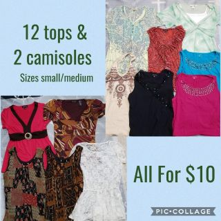 Lot of Ladies' Tops - all for only $10