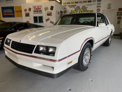 1986 Chevrolet Monte Carlo SS (White)