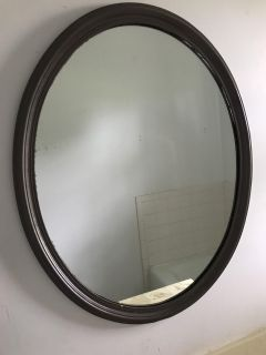 Mirror - Oval with Antique Bronze Paint