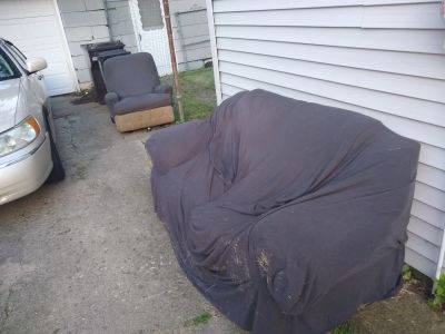 Free couch and recliner