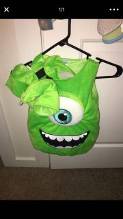 Monsters Inc Mike Wazowski costume: 12-18 month
