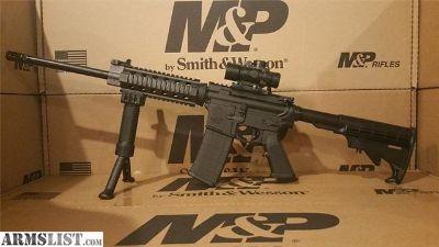For Sale: Smith & Wesson M&P 15 3x30 Scope Quad Rail AR15