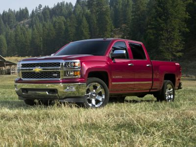 2014 Chevrolet Silverado 1500 LT (Deep Ruby Metallic)
