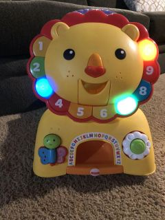 Fisher price sit and stand ride on/walker