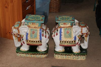 Two Elephant Stands